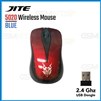 JITE 5020 USB Wireless Gaming Mouse Red