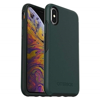 "iPhone 12 Mini (5.4"") Hard Case HeavyDuty Symmetry Design Green"