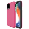 "iPhone 12/ 12 Pro (6.1"") Dotted Shockproof Hybrid 2 in 1 Case Rose"