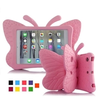 "iPad 9.7"" (2018/17/Air) Shockproof Kids Butterfly Case Pink"