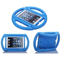 "iPad 9.7"" (2018/17/Air) Shockproof Kids Steering Wheel Case Blue"