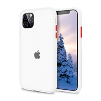 iPhone 11 (6.1'' inch) Latest Matte TPU Shockproof Hard Case Transparent