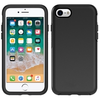 iPhone SE/8/7/6 Hard Case HeavyDuty Symmetry Design Black