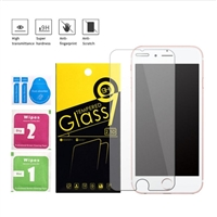 iPhone 8/7/6 Tempered Glass With Paper Packaging ( 10Pcs Bundle )