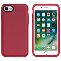 iPhone SE/8/7/6 Hard Case HeavyDuty Symmetry Design Red