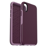 iPhone SE/8/7/6 Hard Case HeavyDuty Symmetry Design Purple