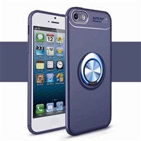 iPhone 8/7 Plus Autofocus 360 Shockproof Case With Ring Holder Blue