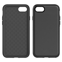 iPhone 8/7/6 Plus Hard Case HeavyDuty Symmetry Design Black