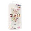 iPhone 8/7/6S/6 2.5D Full Cover Soft Tempered Glass Flower