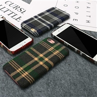 iPhone 8/7 Tartan Design Protective Back Case Green