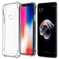 iPhone XS Max Shockproof Transparent Gel Case