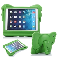 "iPad 9.7"" Universal Kids Shockproof Elephant Case Green"