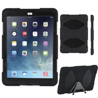iPad 9.7'' (2018/17)  Hard Case Survivor Black