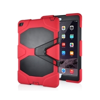 iPad 9.7'' (2018/17) Hard Case Survivor Red