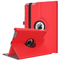 iPad 9.7'' (2018/17/Air) Wallet Case Red