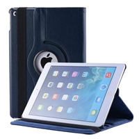 iPad 9.7'' (2018/17/Air) 360 Degree Rotating Stand Case Blue