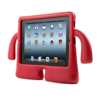 iPad Mini 1/2/3/4/ 5(2019)  iGuy Two Hand Hold Case Red