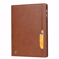 New iPad Pro 11'' (2018) Wallet Case With Card Holder Brown