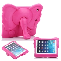 iPad Mini 1/2/3/4/ 5(2019) Kids Shockproof Elephant Case Rose