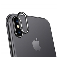 iPhone XS/X  Lens Prorector Al Alloy Anti Scratch Camera Lens Protector Silver