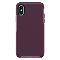 iPhone XS/X HeavyDuty Symmetry Design Case Purple