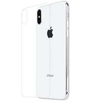 iPhone XS Max Back Cover Tempered Glass