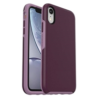 iPhone XR Hard Case HeavyDuty Symmetry Design Purple