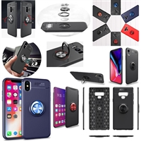 iPhone XS Max Autofocus 360 Shockproof Case With Ring Holder Blue