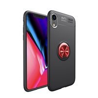 iPhone XS Max Autofocus 360 Shockproof Case With Ring Holder Red