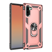 iPhone XS/X Magnetic Car Mount Protective Ring Holder Case Rose Gold