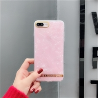 iPhone XS Max Glitter Design TPU Case Pink