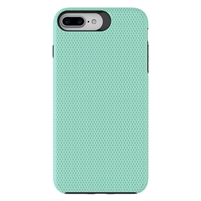iPhone XS Max Dotted Shockproof Hybrid 2 in 1 Case Green
