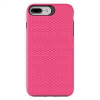 iPhone XS Max Dotted Shockproof Hybrid 2 in 1 Case Rose