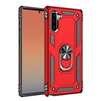 iPhone XS Max Magnetic Car Mount Protective Ring Holder Case Red
