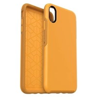 iPhone XS MAX HeavyDuty Symmetry Case Yellow
