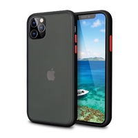 iPhone XS Max Latest Matte TPU Shockproof Hard Case Black