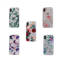 iPhone X/XS TPU Painted Protective Gel Case (Mix Design)
