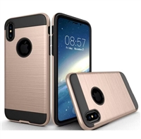iPhone XS/X verus case gold