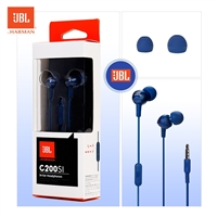 JBL C200Si In-Ear Wired Earphone With Mic Blue
