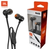 JBL T290 In-ear Pure Bass Wired Earphone with Mic Black