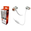 JBL T290 In-ear Pure Bass Wired Earphone with Mic Silver