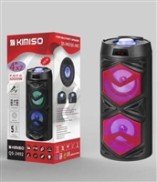 Kimiso QS-2401 Star Light Bluetooth Speaker Black/ Red