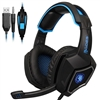 Sades L9 Stereo Gaming Headset With Mic 3.5mm Jack For PC Laptop Mac Xbox PS4