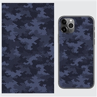 Lensun Blue Camouflage Silicone Coated Back Skin