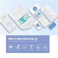 Lensun Shatter-Proof Nano Protector For iPhone 8/7