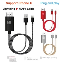 iPhone Lighting to HDMI (2K) Cable Adapter Black