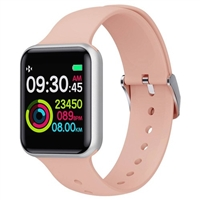 Makibes SN72 Smartwatch 1.3 Inch IPS Colorful Screen IP68 Waterproof  Pink