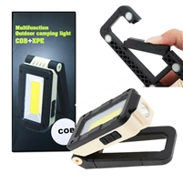 Multi-function Rechargeable Ultra Bright XPE+COB Work Inspection Flashlight