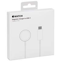 Original Apple MU9K2AM/A iWatch Magnetic Charging Cable USB-C 0.3M White