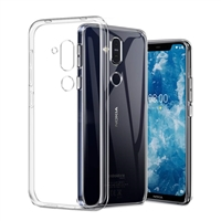 Nokia 8.1/X7 Gel Case Transparent